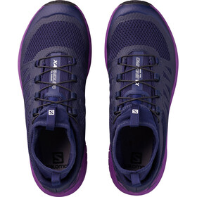 Salomon W's XA Enduro Shoes evening blue/grape juice/black